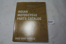 2002 Indian Chief Parts Manual Catalog Book Wheel Front End Tank Seat Eps23561