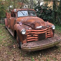 1949 Chevrolet Fire Truck Great To Restore