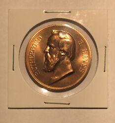 Rutherford B Hayes Official U.s. Mint Presidential Commemorative Medal 33mm
