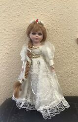 limited Edition 1980's Genuine Fine Bisque Porcelain Collectors Choice Doll