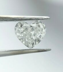 Loose Heart Diamond 0.67 Ct H Si1 Natural Solitaire Engagement Birthday Ring