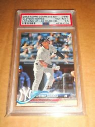 2018 Topps Torres 699 All-star Game Silver Stamp Foil Rookie Card Rc Psa 8.5