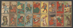 1904-1932 Hee Haw And Her Name Was Maud Mule Complete Comic Trading Card Set