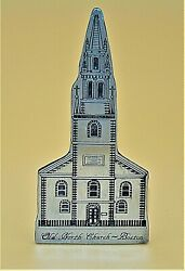 HAND CRAFTED FINE PEWTER 1990 Old North Church Boston Scancast (3