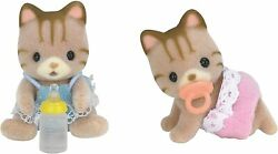 CALICO CRITTERS #CC1407 Sandy Cat Twins New in Box