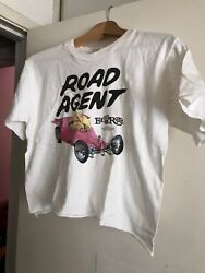 Vtg 1996 Usa Made Road Agent Big Daddy Ed Roth Rat Fink Graphic T Shirt Cropped