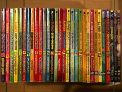 COMPLETE VINTAGE lot of 35 GHOSTS OF FEAR STREET ST STINE ALL Books #s 1 35
