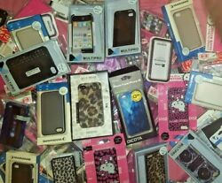 Lot Of 130-iphone 4-a1332 / A1349-assorted Styles/colors-cases/covers/skins