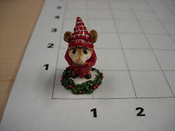 =r1c4 - Ebenezer Scrooge 1ea Wee Forest Folk From The Collection Row 1 Column 4