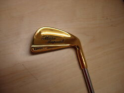 = Nos 1990and039s Lynx Master Imperial Gold Plated Steel Shaftt Rh