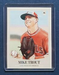 2018 Topps And Washington Post Nno Mike Trout All Star Game Regional Newspaper Sp