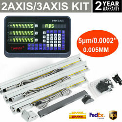 3axis 2axis Digital Readout Dro Display And Linear Scale Ttl Glass Sensor Kit Cnc