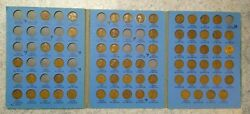 67 Coin Set 1909-1940 Lincoln Wheat Penny Cent - Early Dates Collection  213