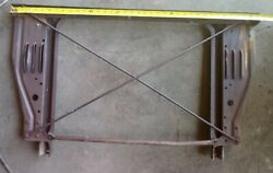 1958 1959 Chevrolet Truck Radiator Core Support 1/2 Ton Chevy Only