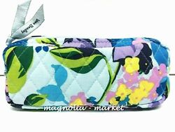 Vera Bradley SMALL COSMETIC MARIAN FLORAL Case Travel Bag $14.95