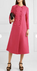 Wool Coat Jacket-with Tags- Rrp5880 Aud