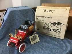Vintage 1903 Model A Ford Jim Beam Collectible Decanter Car Vintage With Box