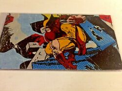 Woverine Checkbook Cover Custom Handmade Gift For Him Lined Comicbook Style $7.00