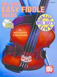 Mel Bay's Easy Fiddle Solos Music Book/cd Value Line Very Rare Brand New On Sale