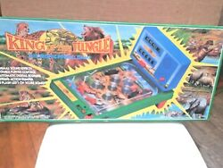 Vntg King Of The Jungle Electronic Pinball Game 1994 Polyfect Rare Htf Tabletop