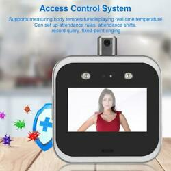 5and039and039 Biometric Face Recognition Attendance Time Clock Recorder Body Temperature