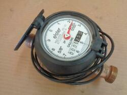 Amco / Elster C700 Invision Water Meter 5/8 X 3/4 Bronze Valve Slightly Used