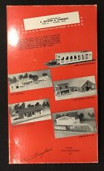 E Suydam And Company Ho Scale 522 New Diesel House With Interior Craftsman Kit