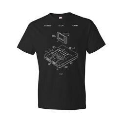 Super SNES Video Game System Patent Shirt Classic Videogame Console $28.95