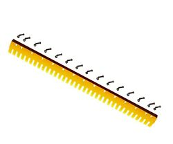 4z9020, 5d9559s - 7ft Heat Treated Curved Serrated Grader Blade - 3/4x8x72