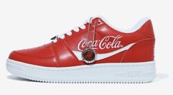 A Bathing Ape Andtimes Coca-cola Collaboration Red Bape Sta Limited Size Us 8.5
