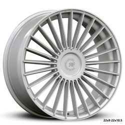 22andrdquo Rf22 Silver Polish Concave Wheels For Mercedes W222 S550 S560 S63 22x9 /10.5