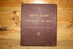 Vintage Mould Guide For Trubyte Posteriors Dental Usa Tooth Teeth Display T3