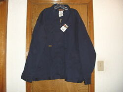 Big Bill Fr Flame Resistant Indura By Westex Navy Blue Jacket With Liner 3xl
