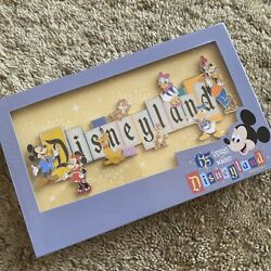 Disneyland Park 65th Anniversary Marquee Boxed Jumbo Pin Limited 1500