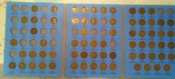 68 Coin Set 1909-1940 Lincoln Wheat Penny Cent - Early Dates Collection  217