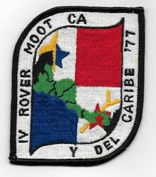 Boy Scouts Iv Rover Moot American Central And Caribbean Panama 1977