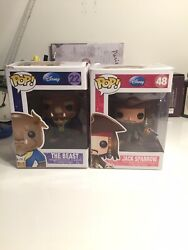 Funko Pop Dianey 48 Jack Sparrow And 22 The Beast