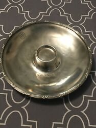 Vintage Reed And Barton Silver Soldered Mark Hopkins Hotel Plate / Bowl