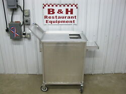 National Cart Co. Al-pqc-3-1 Grocery Produce Quality Prep Stock Cart Table
