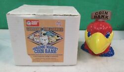 Qty. 217 Kansas Jayhawks Officially Licensed Ceramic Mascot Coin Bank New