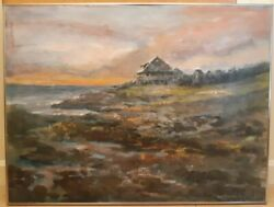 hall pierce groat sr. new york artist Andrew Wyeth's home oil painting