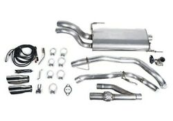 Roush 304 Ss Active Cat-back Exhaust Kit For 15-20 Ford F-150 422104