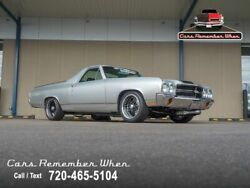1970 Chevrolet El Camino SS Pro-Charged 427 V8 4-Speed Manual Restomod 427 cubic inch V8 4-Speed manual Silver