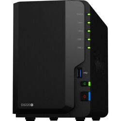 Synology Ds220+ Nas Diskstation Assembled And Tested 2tb-16tb And 2gb - 6gb Ram