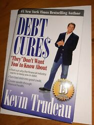 Debt Cures They Dont Want You To Know About Kevin Trudeau Hardcover 3rd Version