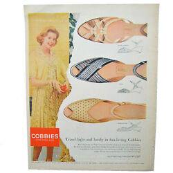 Cobbies Shoes And Ivory Soap Look  1958 Mccall's 2 Ads On 1 Page Vintage Ads