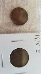 Nice Lot Of Two S Mint Wheat Cents 1915s And 1916s