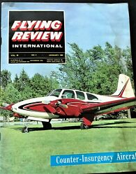 1965 Flying Review Beech Turboprop King Air Russia Mig 15 Missiles Valkyrie
