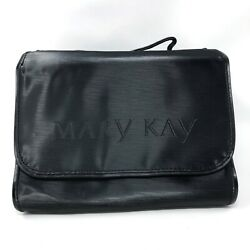 Mary Kay Hanging Cosmetic Bag Make Up Black Pink Organizer Large Travel Roll Up $15.00