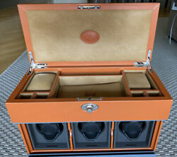 Underwood Watches Leather Cases New Mod. Un 820 Tan